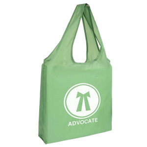 PE foldable shopping bag 190T