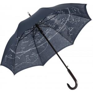 AC woodshaft normál esernyő night blue/starsky