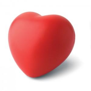 Szív alakú stresszlabda