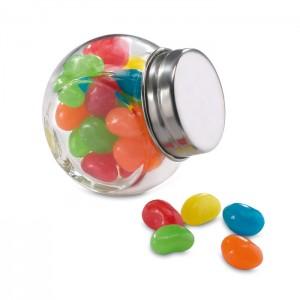 Cukorkák üvegben