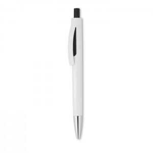 LUCERNE WHITE Fehér nyomózáras toll