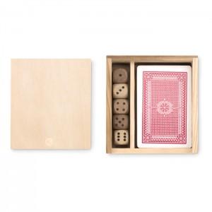 LAS VEGAS Kártya és dobókockák dobozban