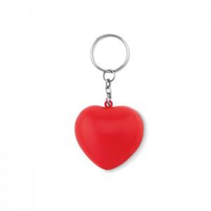 PU szív kulcstartó
