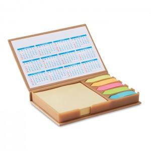 Asztali jegyzettömb naptárral