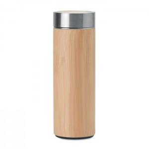 BATUMI Duplafalú acél/bambusz termosz