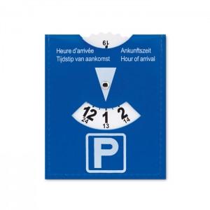 PVC parkolókártya.