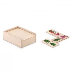 ANIMALS Fa gyerek dominó, dobozban