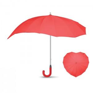 """BODA RED 25"""" szív alakú esernyő"""