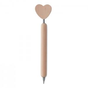 Fa toll, szív motívummal