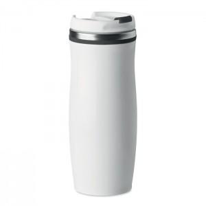 400 ml duplafalú acél pohár