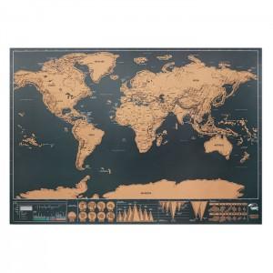 Világtérkép 42 x 30 cm