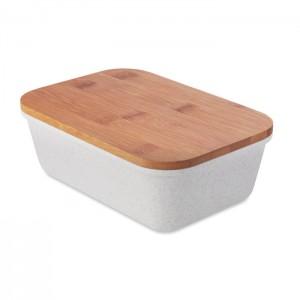 Uzsonnás doboz bambusz tetővel