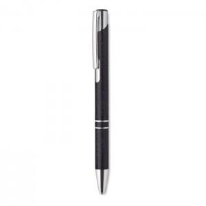 Szalma/ABS  nyomógombos toll