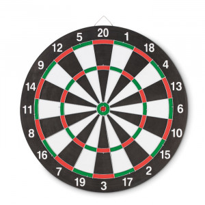 Kétoldalas darts tábla
