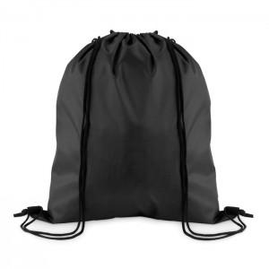 210D poliészter zsinóros táska