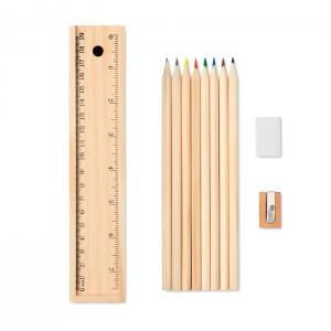 12 darabos fa ceruzakészlet