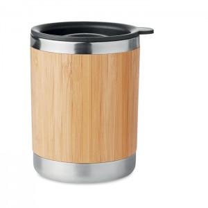 Bambusz borítású pohár, 250 ml