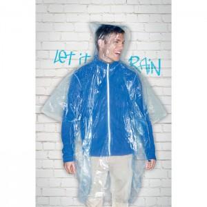 SPRINKLE Műanyag kapucnis esőkabát