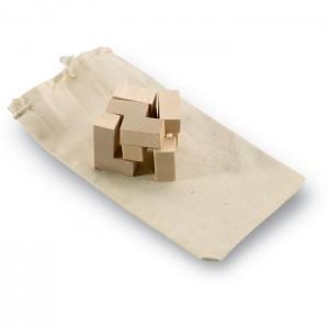 TRIKESNATS Építőkocka fából