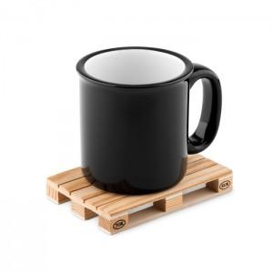 PALY Raklap alakú fa poháralátét
