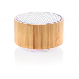 Bambusz vezeték nélküli hangszóró, barna