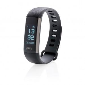 Aktivitásmérő vérnyomás ellenőrzővel, fekete