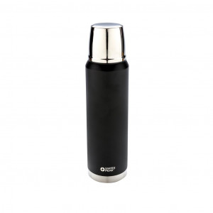 Swiss Peak Elite 1 literes vákuum réz palack, fekete