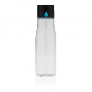 Aqua folyadékbevitel-követő tritán vizespalack