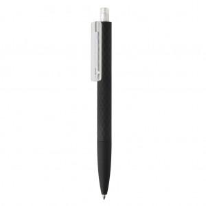 X3 puha tapintású, fekete felületű toll
