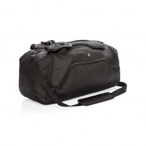 Swiss Peak RFID sport hordtáska és hátizsák, fekete
