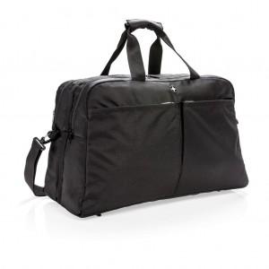 Swiss Peak RFID bőröndként nyitható hordtáska, fekete