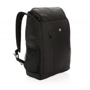 """Swiss Peak 15""""-os RFID laptop hátizsák, fekete"""