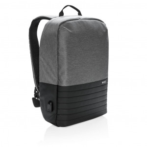 """Swiss Peak RFID lopásgátló 15""""-os laptop hátizsák, szürke"""