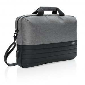 """Swiss Peak 15""""-os RFID laptop táska, szürke"""