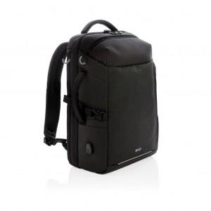 Swiss Peak XXL hétvégi utazós hátizsák, RFID és USB-vel, fek