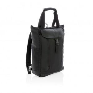 """Swiss Peak RFID 15""""-os hord-és hátizsák, PVC-mentes, fekete"""