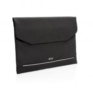 """Swiss Peak RFID 15.6""""-os laptoptartó, PVC-mentes, fekete"""