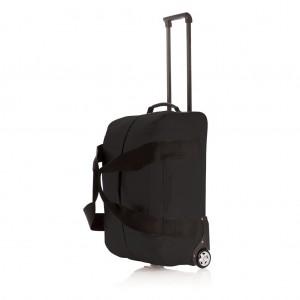 Basic gurulós táska, fekete