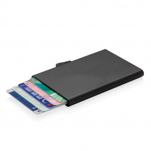C-Secure alumínium RFID kártyatartó