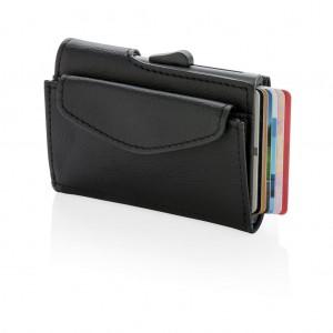 C-Secure RFID kártyatartó és tárca, fekete