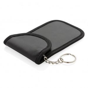 Autólopás elleni RFID tok, fekete