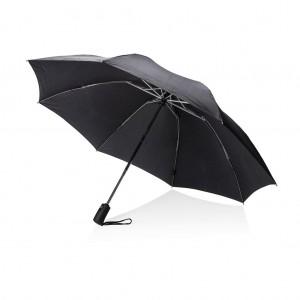 """Swiss Peak 23""""-os kifordítható automata esernyő, fekete"""