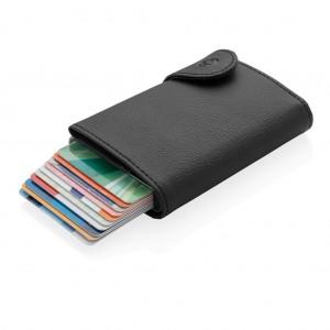 C-Secure XL RFID kártyatartó és pénztárca, fekete